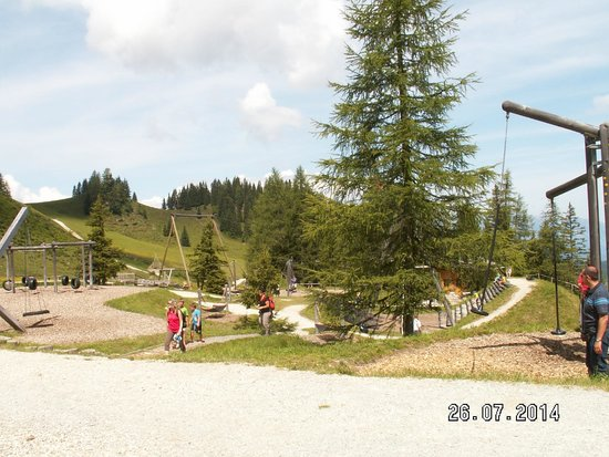 Wagrain Grafenberg: Play area with views