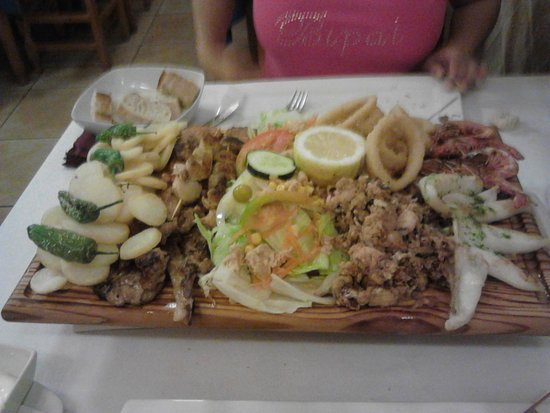 Tasca Nueva Bahía: tabla menu pareja