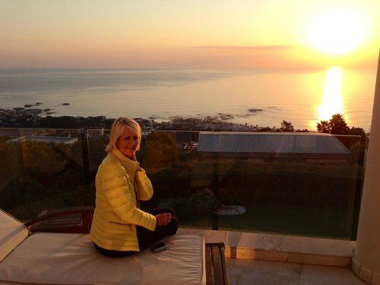 Atlantique Villa Camps Bay: View from verandah