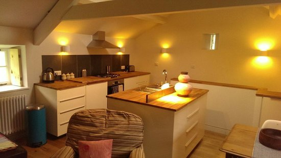 Sunny Brow Barn: Lovely open plan kitchen dinner and lounge