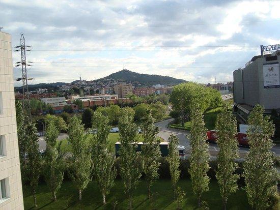 Novotel Barcelona Sant Joan Despi: Utsikt från hotellrummet