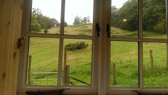 Sunny Brow Barn: View out of bedroom