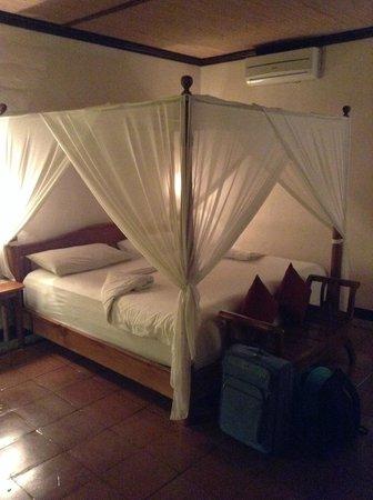 Junjungan Ubud Hotel and Spa: Particolare della camera