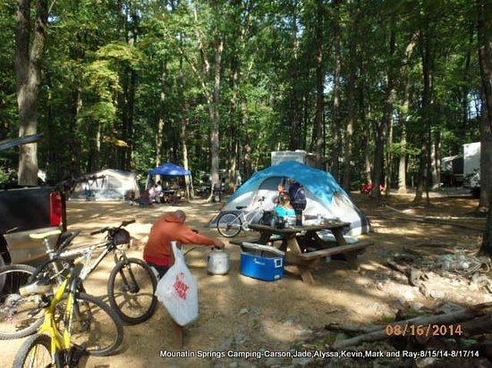 Mountain Springs Camping Resort