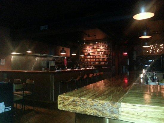 The Wine Bar: La cuisine