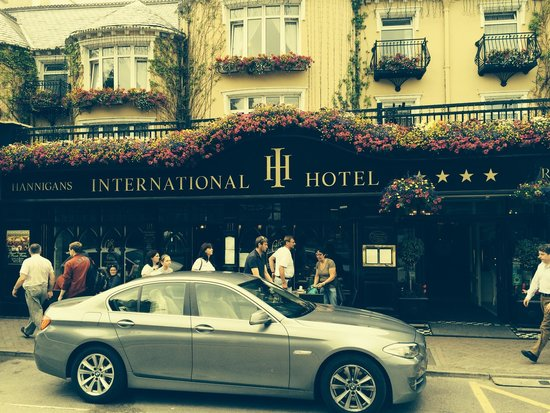 International Hotel Killarney: Perfectly located - we loved this place