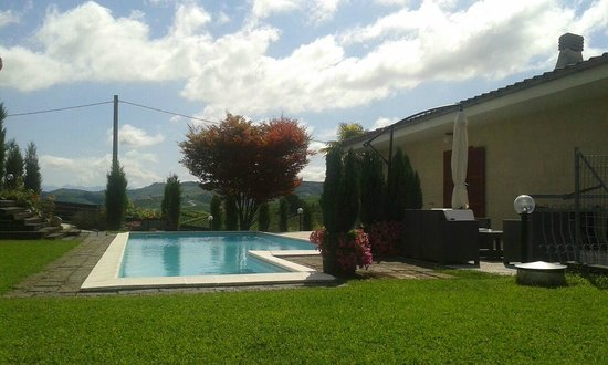 Red Wine Camere: piscina