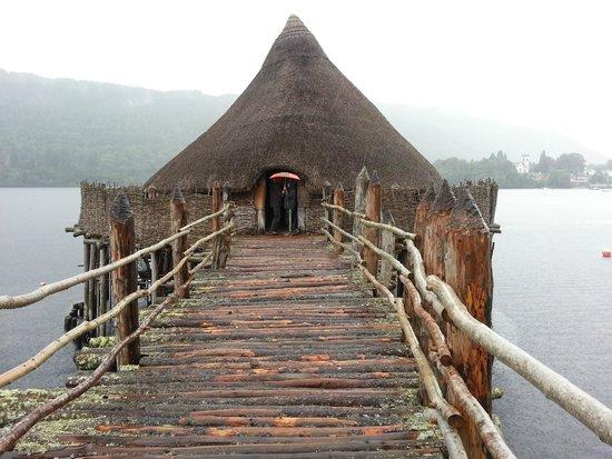 The Scottish Crannog Centre: Das wieder aufgebaute Pfahlhaus