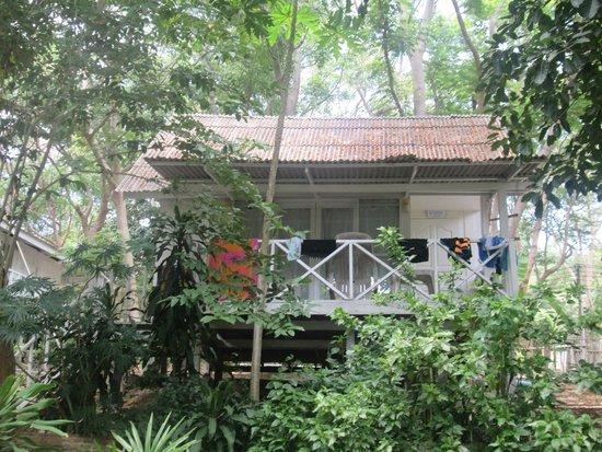 Vongdeuan Resort: villa on hill