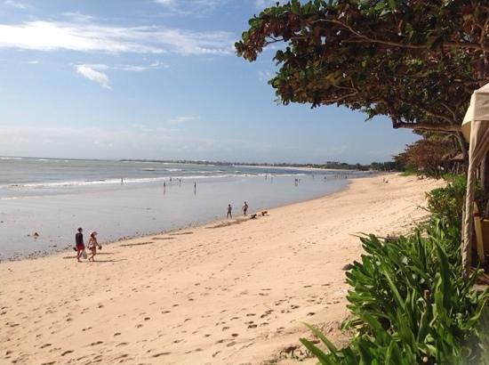 INTERCONTINENTAL Bali Resort : plage jimbaran ...juste devant l'hôtel