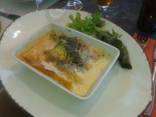 Le Continental : Lasagne di merluzzo e gamberi