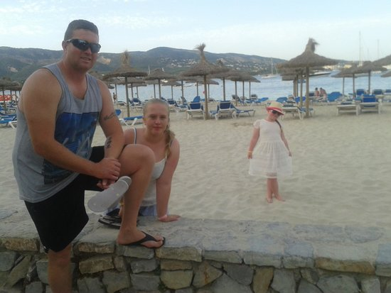 Intertur Hotel Hawaii Mallorca & Suites: Lovely beach!!