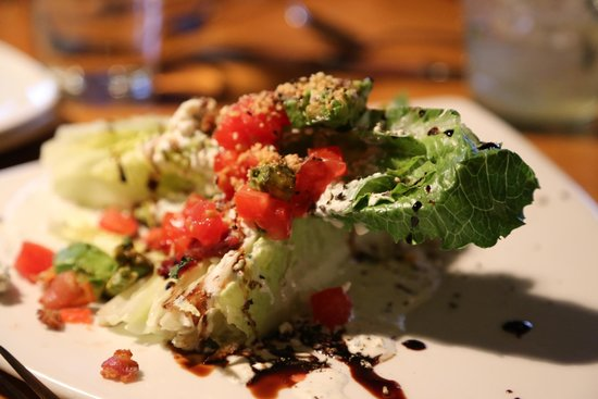 The Chrysalis Inn & Spa : ceasar salad at Keenans