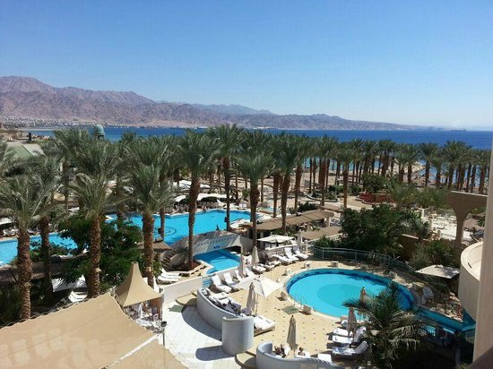 Herods Vitalis Spa Hotel Eilat: pool view