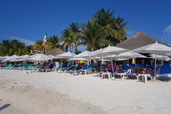 Ixchel Beach Hotel: Playa Norte