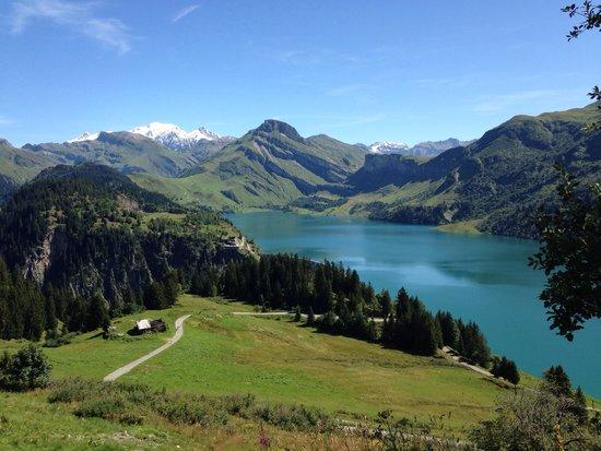 Barrage et Site de Roselend: Magnifique!!!