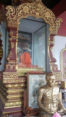 Wat Khunaram (Mummified Monk): The mummified monk