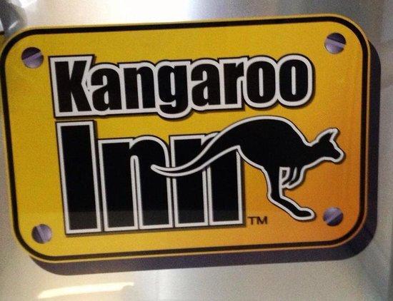 Kangaroo Inn: Sign