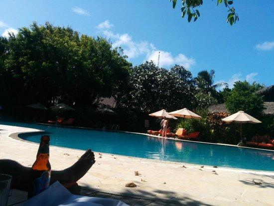 Sheraton Maldives Full Moon Resort & Spa: pool view