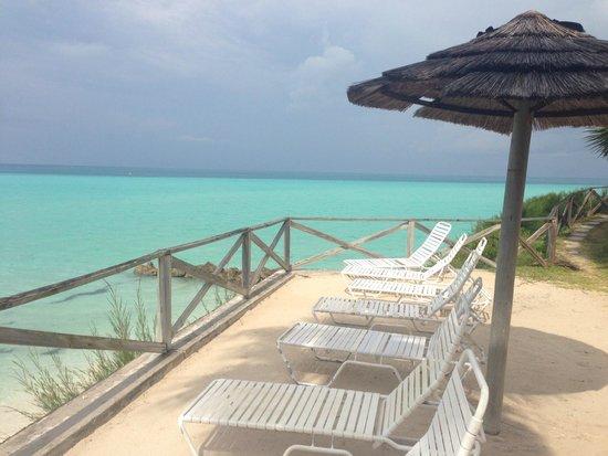 Pompano Beach Club: Beach deck