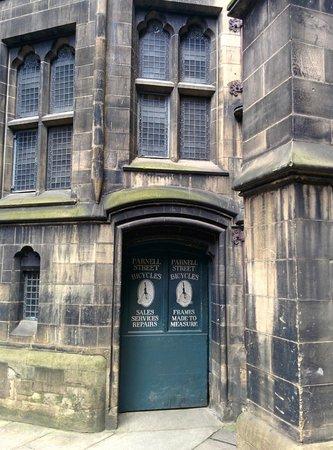 Manchester Town Hall: Inner courtyard