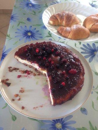 B&B Villa Maya: La deliziosa cheesecake fatta dalla padrona di casa!!