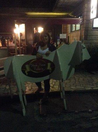 Il Caminetto Grill : la mucca della valdichiana
