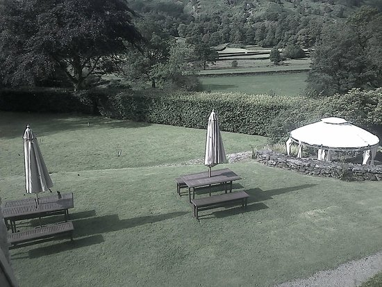 Lancrigg Vegetarian Country House Hotel: View from bedroom window