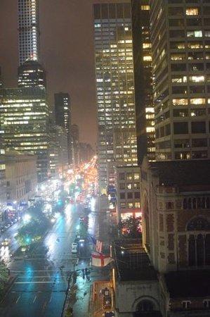 Waldorf Astoria New York: Aussicht aus Zimmer