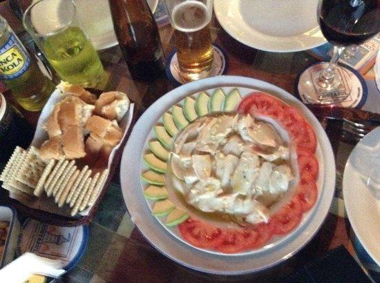 Costazul Seafood: Mushame de pulpo