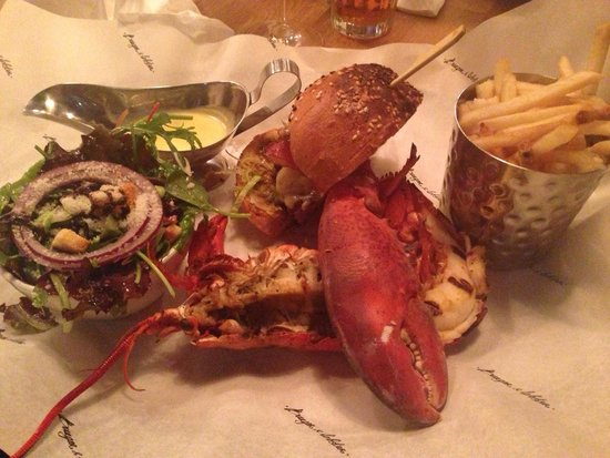 Burger & Lobster - Mayfair: If you and a friend/date/family member order a lobster, ask for a burger and for it to be split