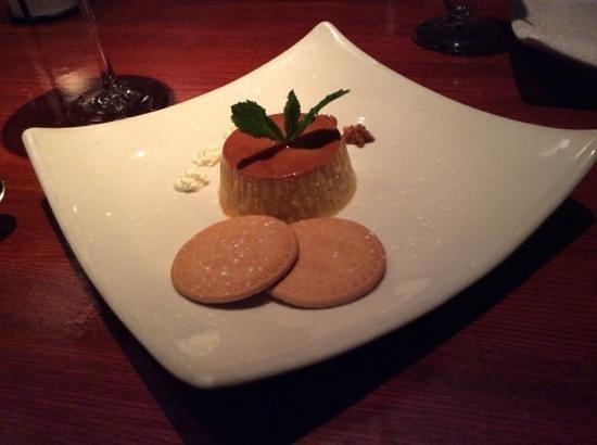 Cuba Libre Restaurant & Rum Bar : flan-tastic end to the meal