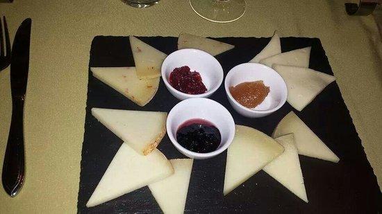 L'Altro Cantuccio Ristorante : Assaggi fi formaggio