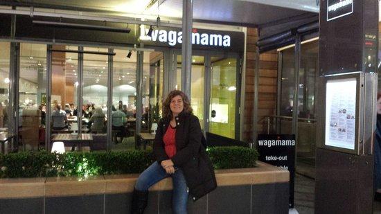 Wagamama: Restaurante maravilhoso!!!!