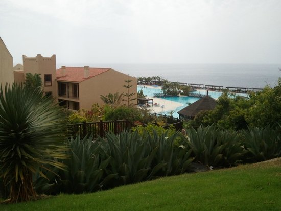 La Palma Princess & Teneguia Princess : view from one of the restaurant