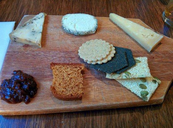 Hearth of the Ram: Cheese board