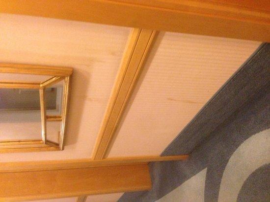 Sheraton Zagreb Hotel: Smutsiga väggar i korridor