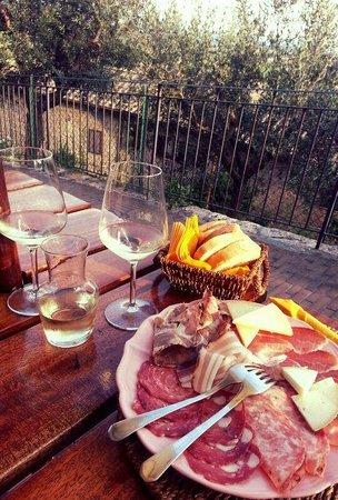 Agriturismo Il Casolare di Bucciano: Delicias da Toscana