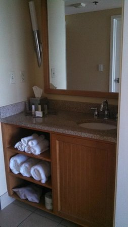 DoubleTree Suites by Hilton Melbourne Beach Oceanfront: sink area