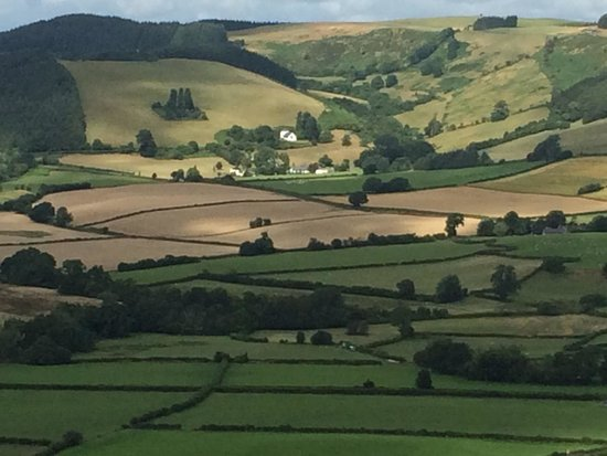 Galles, UK: Picture postcard view
