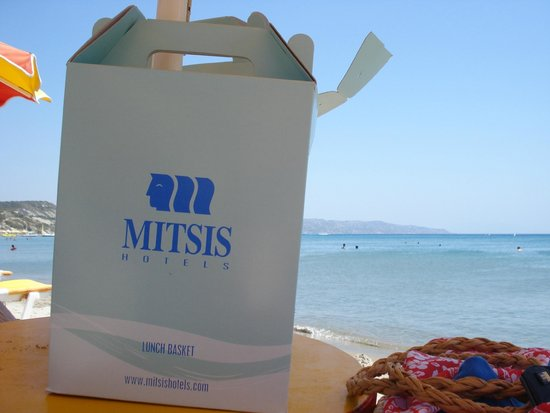 Mitsis Norida Beach Hotel: Lunch box for our trip to another beach