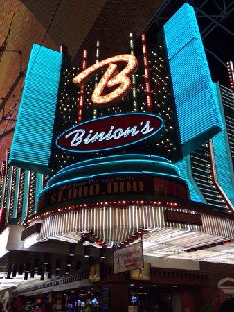 Fremont Street Experience: Binions casino