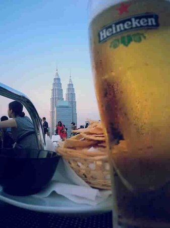 Heli Lounge Bar: Great view