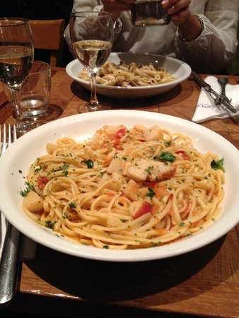 Little Italy Caffe: Linguine St Jacques