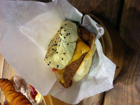 Shiso Burger: Veggie burger