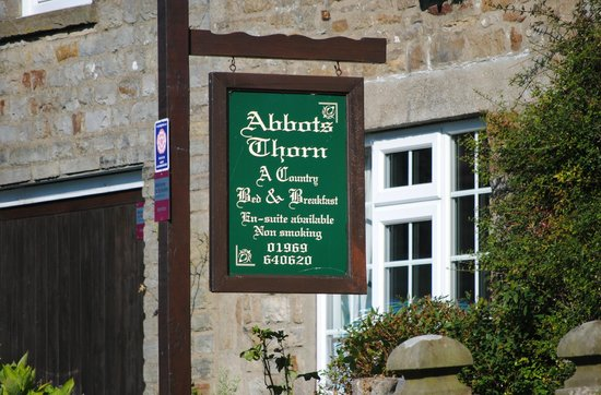 Abbots Thorn: Look them up