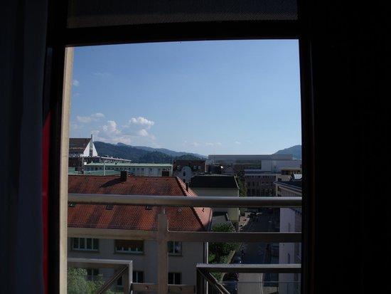 Hotel Rheingold : Vista desde la habitación