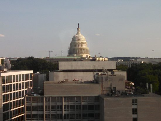 Washington Court Hotel on Capitol Hill: 15th floor view. 1501.