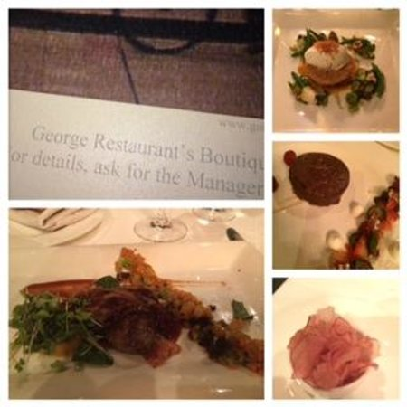 GEORGE Restaurant : Good food but thats it