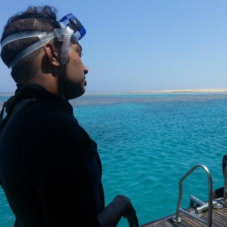 New Son Bijou Diving Center: wonderful scuba diving!  hargada, Egypt.